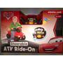 Carro / Disney Pixar Car Atv Ride-on Con Mas De 10 Funciones