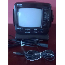 Tv Portable Con Radio Am-fm Nueva En Su Caja