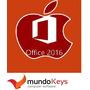 Licencia Office Mac Hogar Y Empresa 2016 - Original - 1 Pc