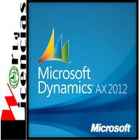Dynamics Ax 2012 R3 Server 1 Año Autorizacion + Curso