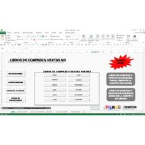 Libros De Compras Y Ventas Iva ,en Excel