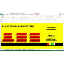 Flujo De Caja Proyectado,en Excel ,pymes,