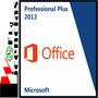 Office Professional Pro Plus 2013 3 Pc Licencia Original