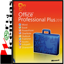 Licencia Office Professional Plus 2010 Sp2 X 3 Pc Windows