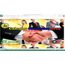 Calculo Salarial 2014 Lottt Liquidaciones Prestaciones Y Mas