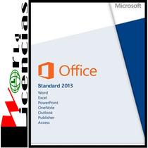 Office Standard 2013 Licencia Original X 1 Pc