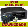 Downgrade Firmware Epson Xp200 Xp201 Xp211 Xp401 Reset 211
