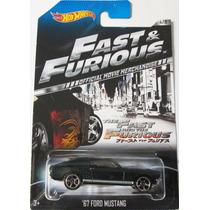 Hot Wheels 2014 - Rápido Y Furioso -
