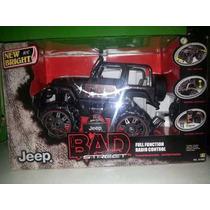 Carro Radio Control Jeep Bad Street Kreisel !!!!!!!!!!!!!!!!