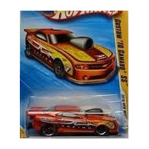 De Coleccion Hot Wheels 2010 Premiere Custom 10 Camaro Ss