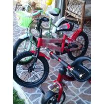Triciclo Para Niños Y Bicicletas Rin 16 De Niño Y Niña