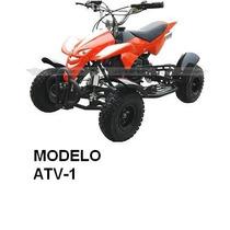 Minimoto Atv1 49cc 4 Ruedas 32km Max 75kgopor Nueva