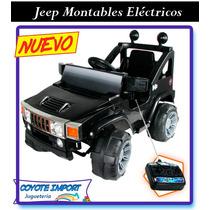 Jeep Montables Eléctricos A Batería (nuevos-garantia-caja)