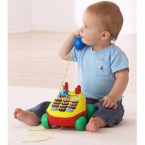 Teléfono Interactivo Tipo Fisher Price De Vtech !!!!!!!!!!!!