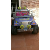 Jeep A Batería 12 Volt. Marca Power Wheels