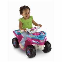 Juguete Niña Barbie Fisher Price Moto A Batería Recargable