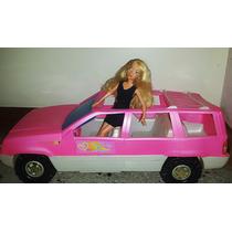 Barbie Original + Carro Jeep De Barbie En Excelente Estado