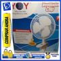 Ventilador Yoy De Clip - 7 Pulgadas - 2 Velocidades - Blanco