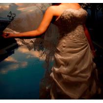 Vestido De Novia Usado Mori Lee Talla 14