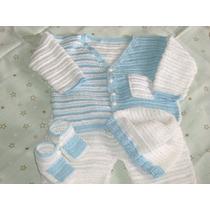 Conjuntos Y Vestidos Tejidos Para Bebes