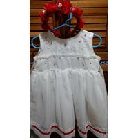 Vestido Para Bautizo O Fiesta Para Niña O Bebe De 1 A 2 Años