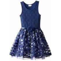 Vendo Vestido De Gala Original Childrens Place Para Niña