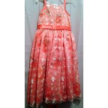 Vendo Bello Vestido De Gala Para Niña Talla 4 A 5 Años