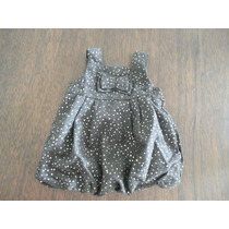 Vestido Para Bebé Niña 12 Meses Gris Epk Nuevo