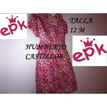 Vestido Estampado El Principito, Talla 12 M, Original, Nuevo