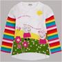 Peppa Pig Camisa Blanca 2t