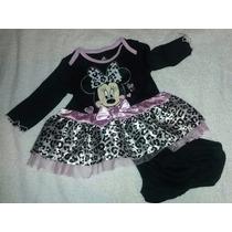 Vestido Mini Mause Para Bebes De 3 Meses