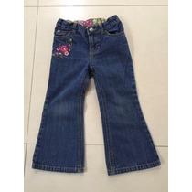 Bello Blue Jeans Carters Para Niña Talla 3t, Como Nuevo!