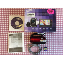 Video Camara Samsung Smx-f44rn + Regalo Sd 16 Gb.