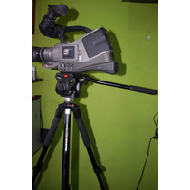 Camara De Video Panasonic Mas Tripode Manfrotto Y Stuche