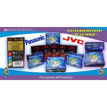 Cinta Vhs-c, Para Video Camara, Jvc, Panasonic Y Compatibles