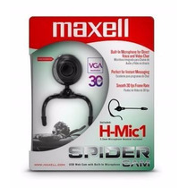 Camara Maxell H-mic1 Spider Cam Vga Resolution