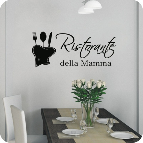 Vinilos decorativos para tu cocina rotulados paredes for Vinilos decorativos pared cocina