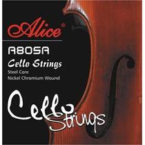 Cuerdas Cello Alice A805a -datemusica-