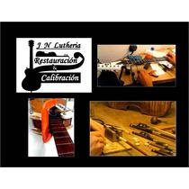 Luthier Encerdado Arcos Y Reparación Instrumentos Musicales