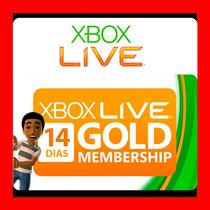 Tarjetas Xbox Live Gold De 14 Dias Envio Inmediato Oferta !!