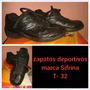 Zapatos Deportivos Sifrina Usados Sin Detalles