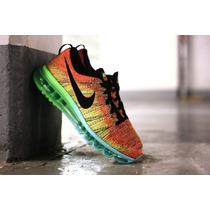 Zapatos Nike Air Max Flyknit 2015 De Dama Y Caballero