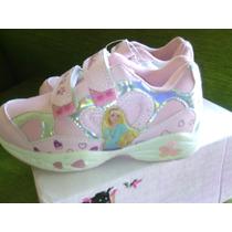 Zapatos De Barbie Niña Talla 27