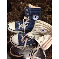 Zapatos Converse Talla 1 Americano (31) En Color Azul Jeans