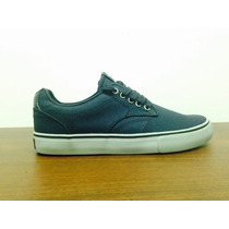 Zapatos Skate Dekline Timtim Azul Suela Gris