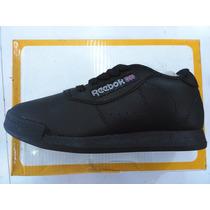 Zapatos Gomas Reebok Escolares Para Niña Y Niño Color Negro