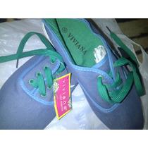 Zapatos Tipo Paseo Casuales De Tela Para Damas Talla 40