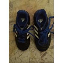 Zapatos Adidas De Taco Originales Para Niños Talla 10 Usa