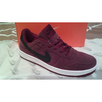 Zapatos Nike Air Force One Suede Low Basquet Baloncesto