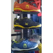 Zapatos Microtaco Futbol Sala Marca Mikasa Nuevos En Caja